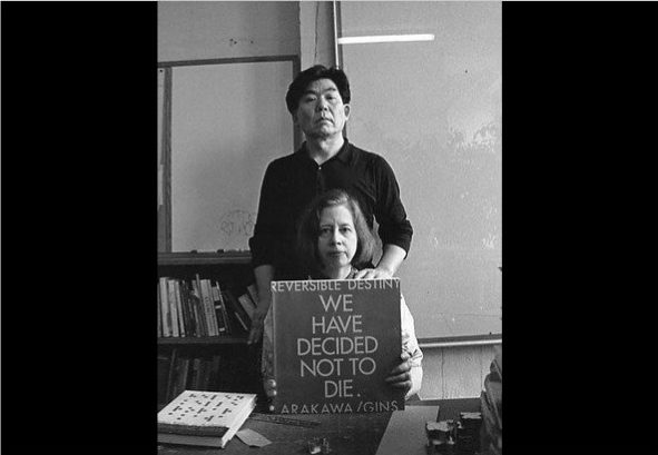 Shusaku Arakawa dan Madeline Gins.